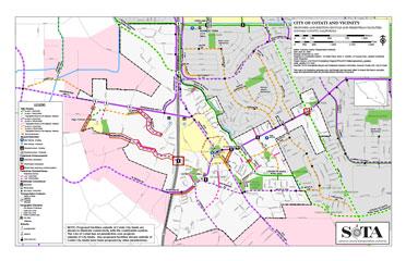 Cotati bike&ped map