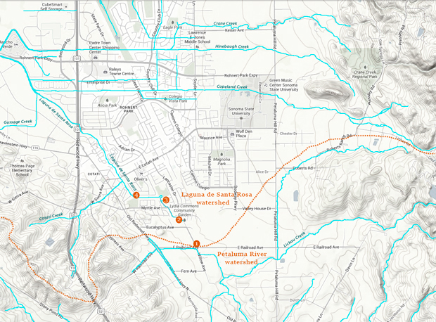 Map of Headwaters