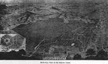 Cotati 1897 Map